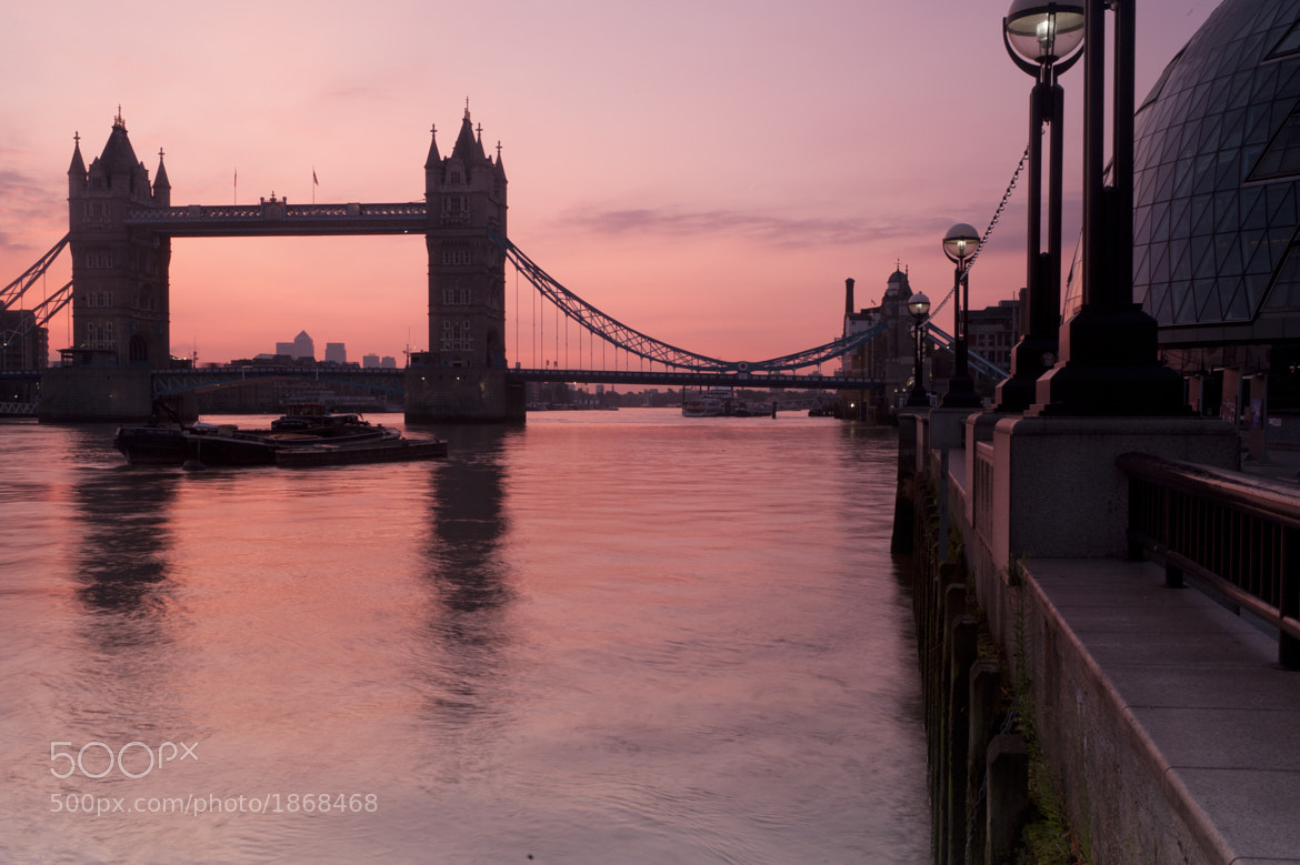 Photograph Tower Bridge Sunrise by Donald Davis on 500px