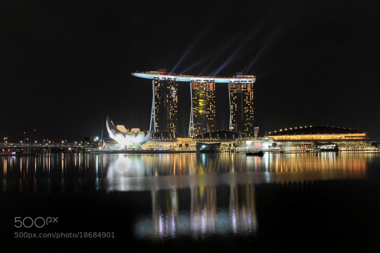 Photograph Marina Bay Sands by Rocky Wr on 500px