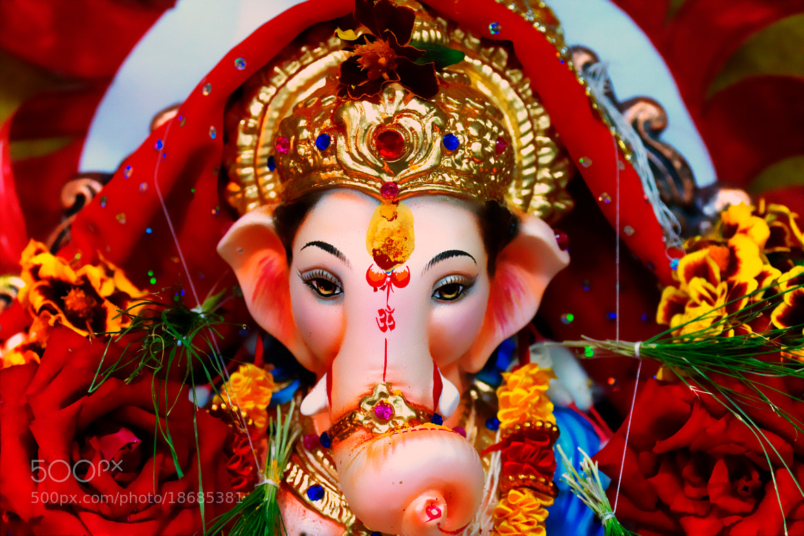 Photograph Ganesha: The Lord of Success by Girish Arabale on 500px
