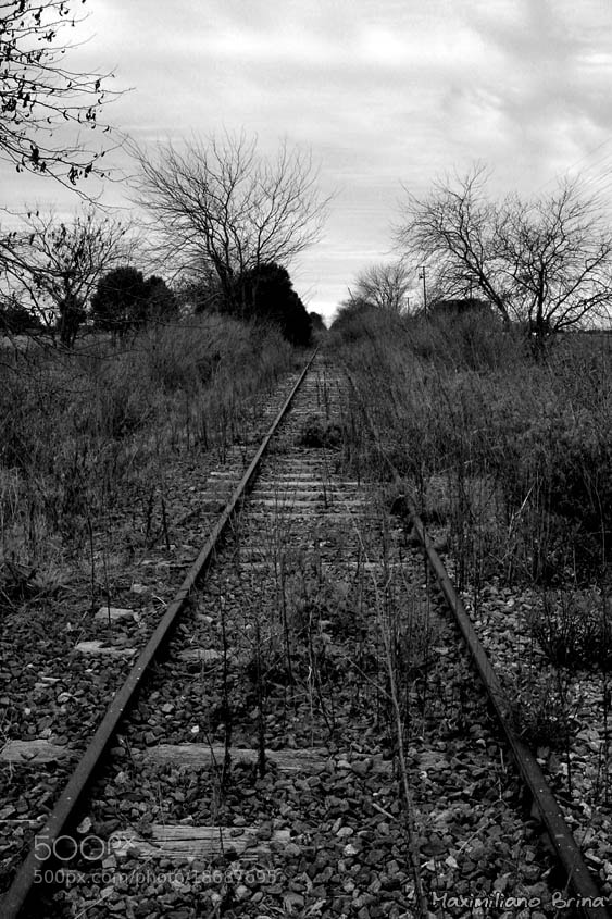 Photograph Abandoned line by Maximiliano Brina on 500px