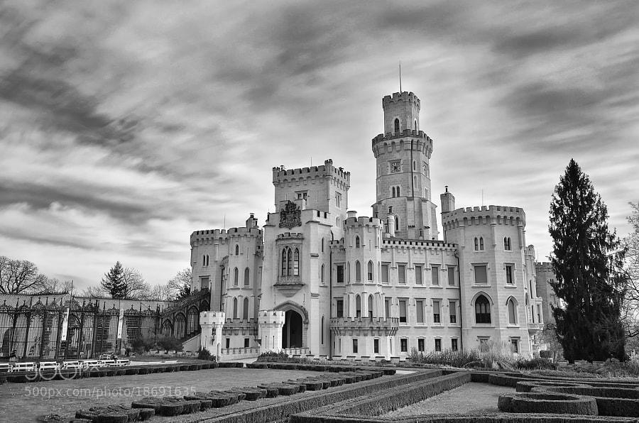 Romantic Castle of Hluboka