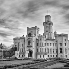 Romantic Castle of Hluboka by Csilla Zelko (csillogo11)) on 500px.com