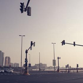 Streets of Abu Dhabi (repost)