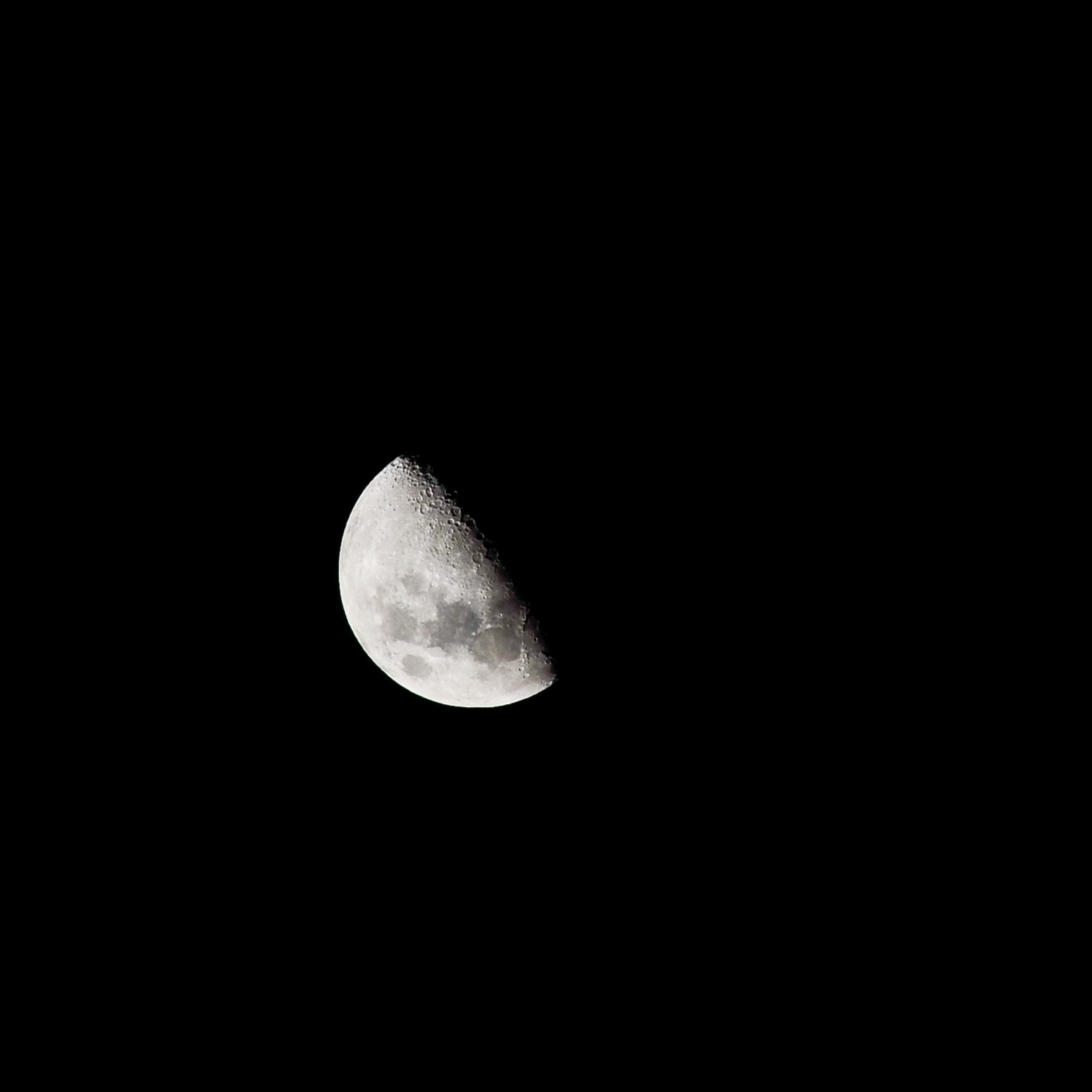 Photograph Half Moon by Megat Zamir on 500px