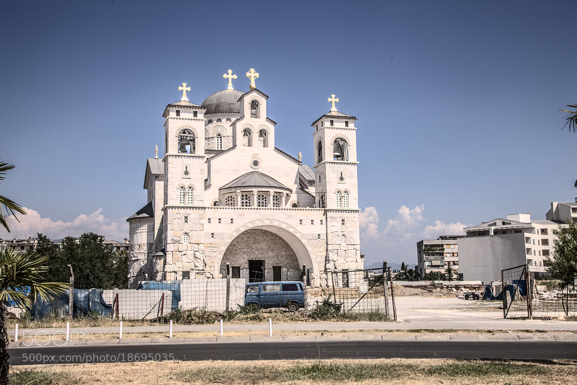 Photograph Cathedral of the Resurrection of Christ (Podgorica) by Dmitry Crefoto on 500px