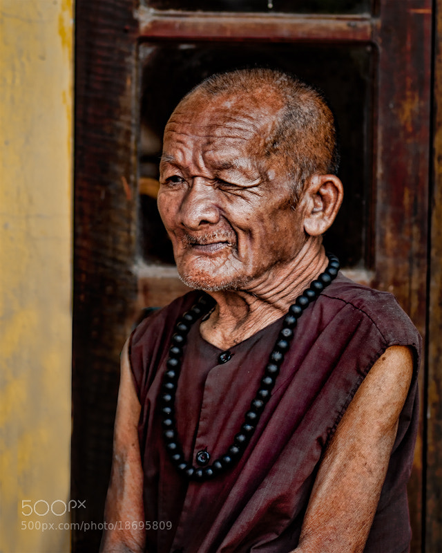 Photograph Vietnamese Old Monk by Michel Latendresse on 500px