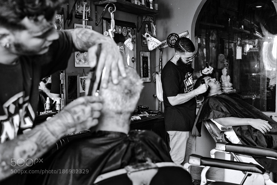 A day at the barber shop