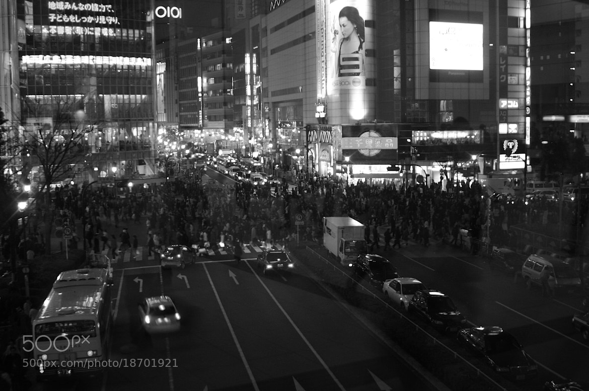 Photograph Shibuya Walking by GengHui Tan on 500px