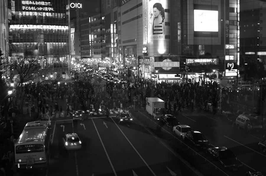 Shibuya Walking