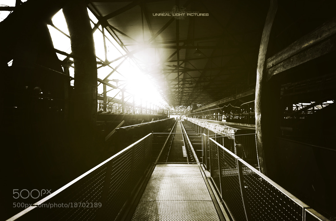 Photograph Ghost Train by Unreal Light Pictures on 500px