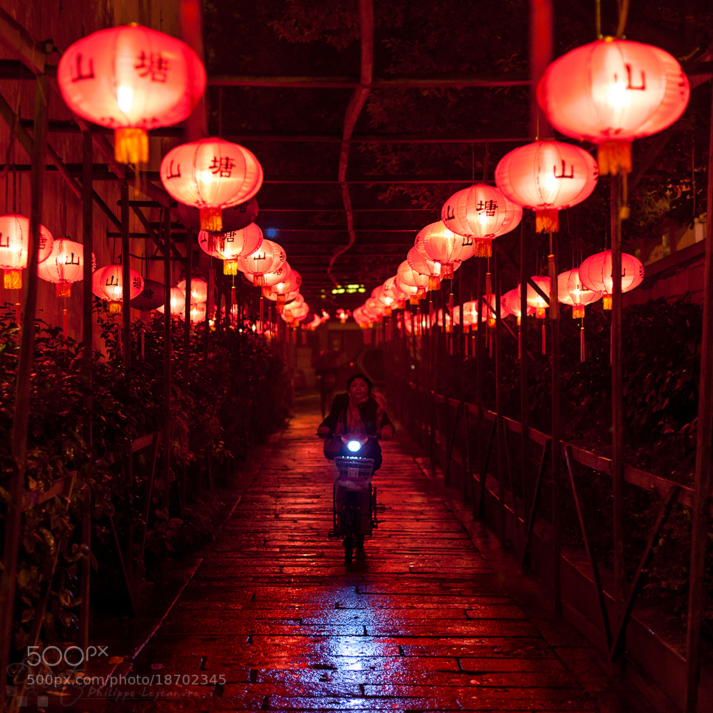 Photograph Night biking in Suzhou by Philippe Lejeanvre on 500px