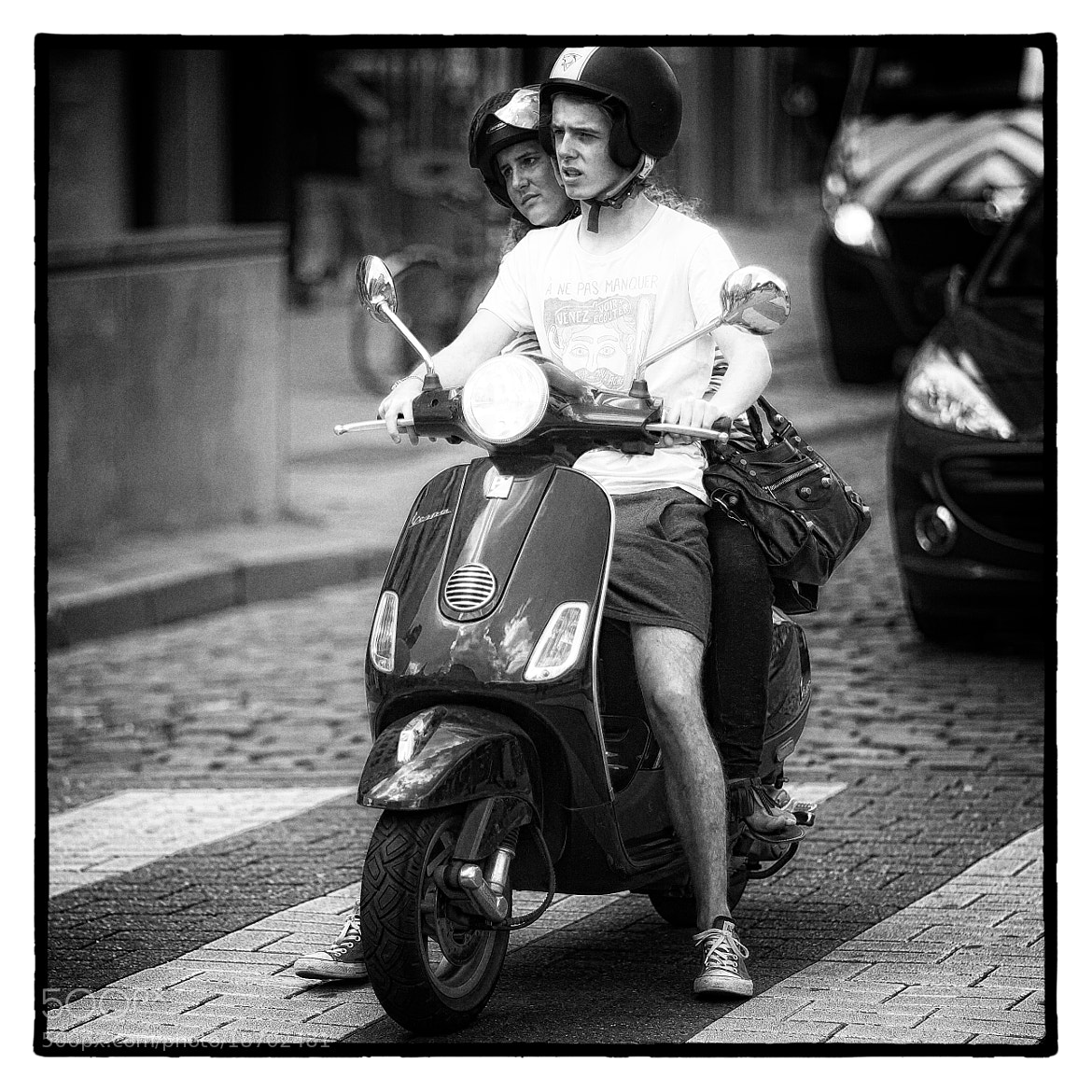Photograph Vespa in Città by Fouquier  on 500px
