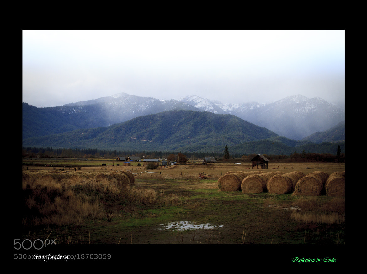 Photograph Hay Factory by Inder Wadhwa on 500px