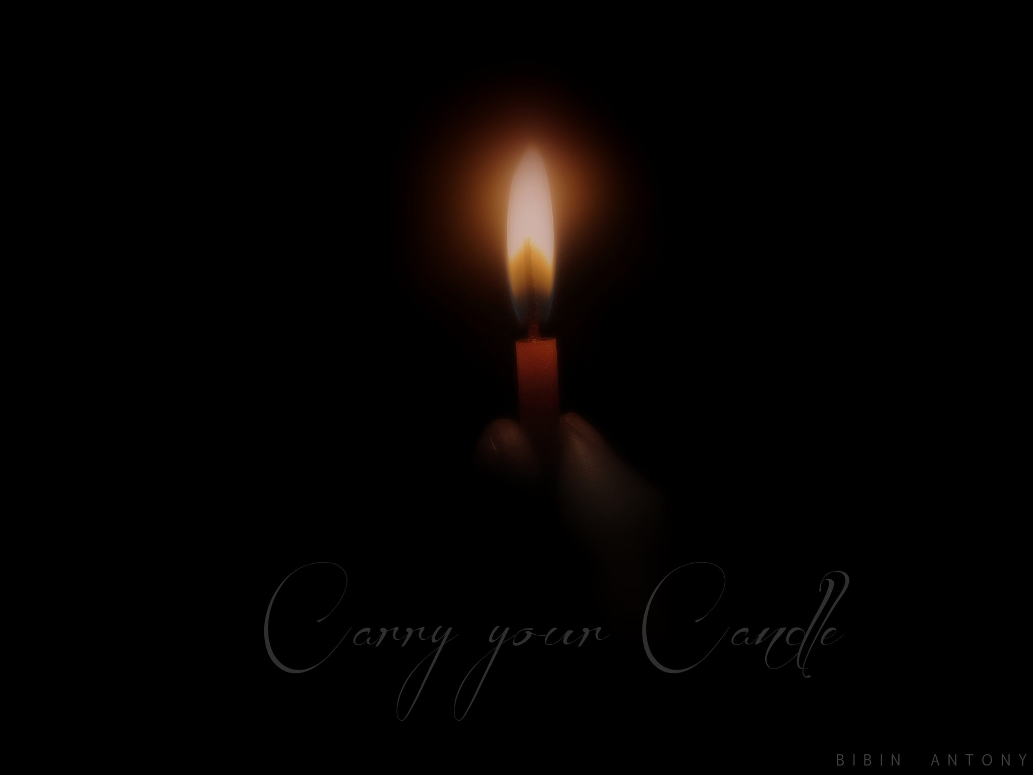 Photograph Carry your Candle.... by Bibin Antony on 500px