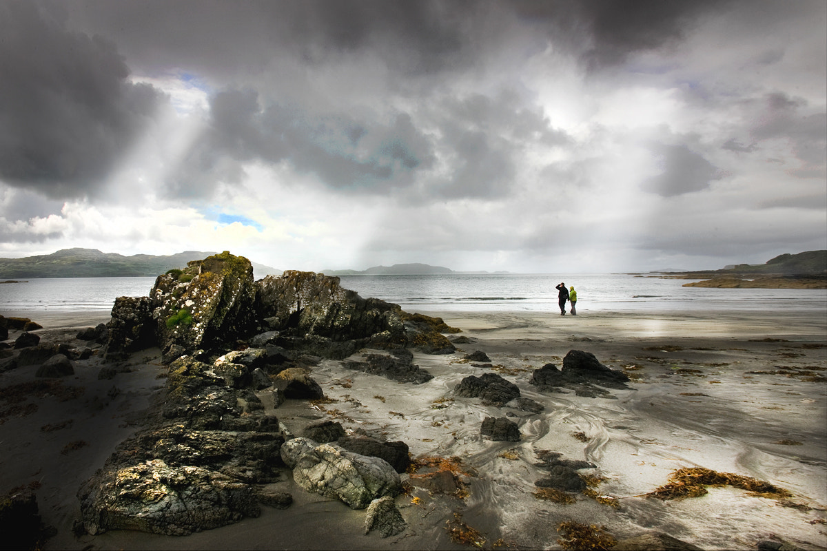 Photograph beach walkers by David Hobcote on 500px