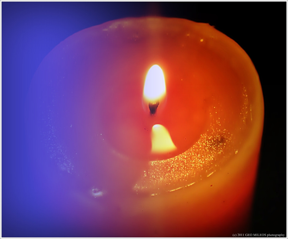 Photograph candle in the mist by gmileos on 500px