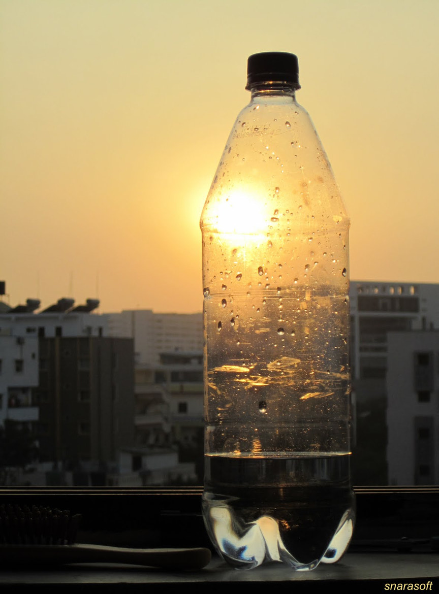 Photograph Living with a bottle by Sathya Narayana on 500px