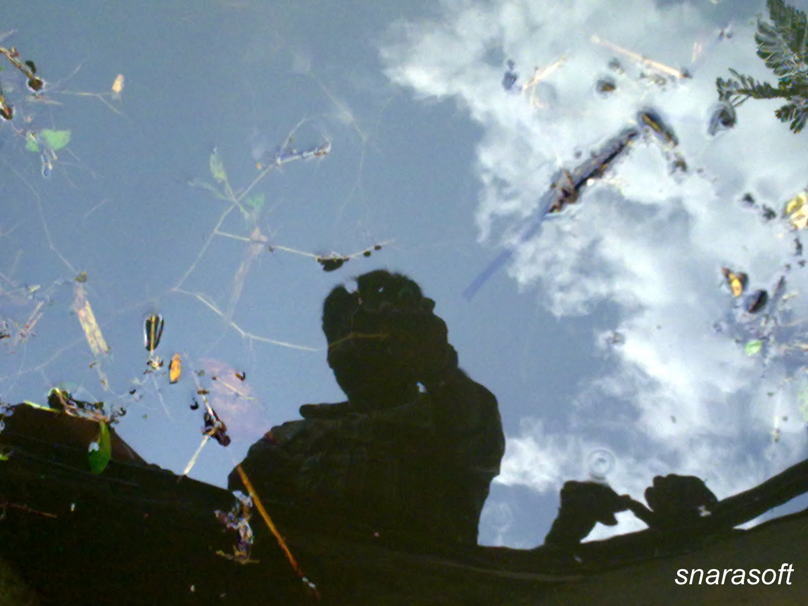 Photograph Own Reflection by Sathya Narayana on 500px