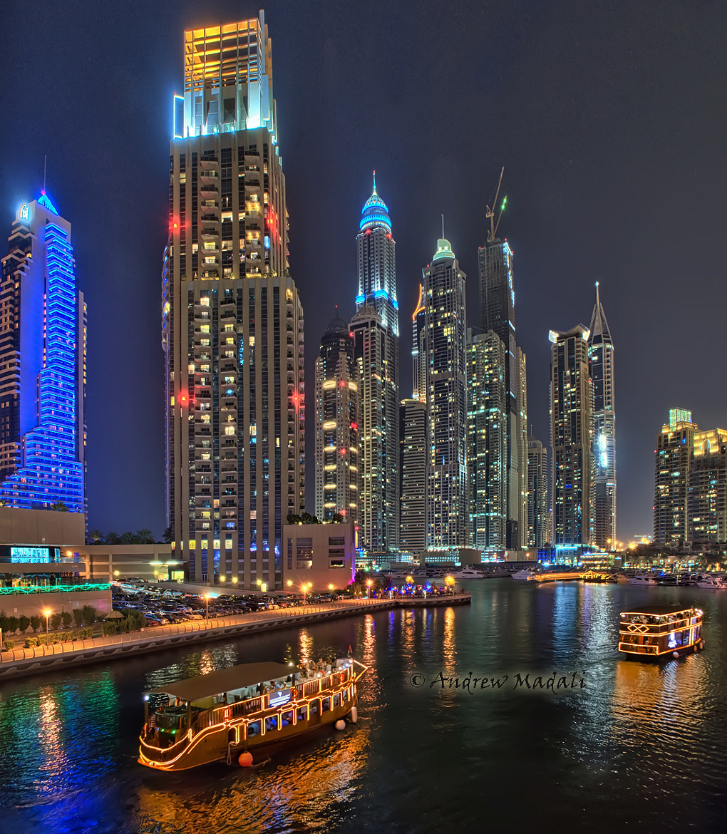 Photograph Boats and Skyscrapers by Andrew Madali on 500px