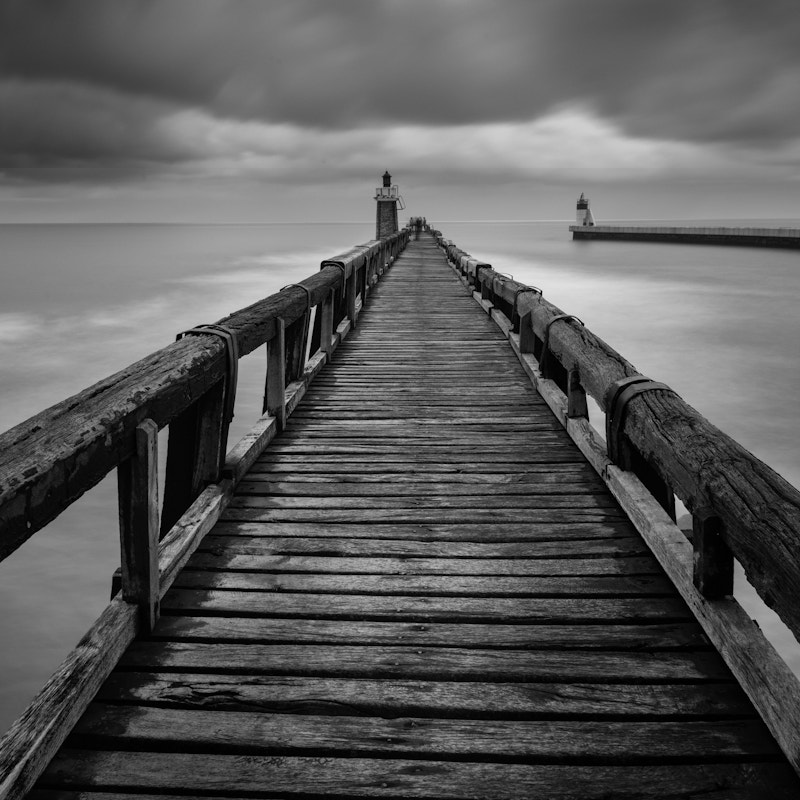 Photograph Capbreton Jetty, France by Billy Currie on 500px