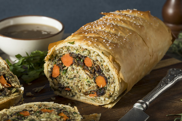 Homemade Holiday Vegan Wellington by Brent Hofacker on 500px.com