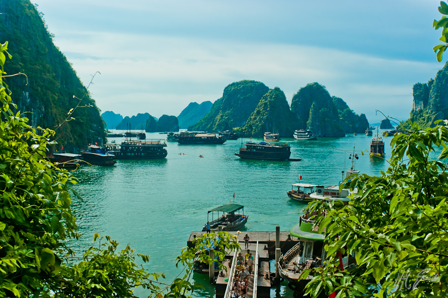 Ha Long Bay..