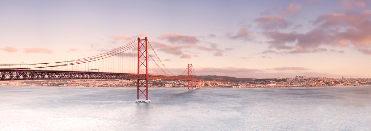 Photograph Arriving to Lisbon by Bruno Amaral on 500px