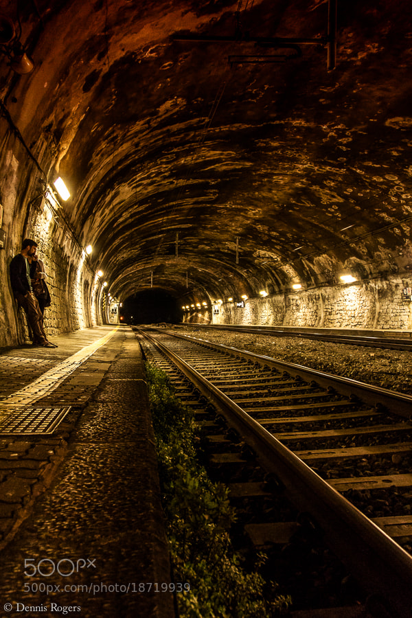 Photograph Tunnel & Tracks by Dennis Rogers on 500px