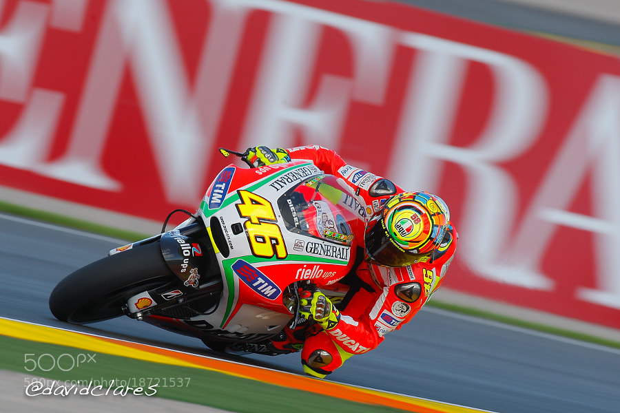 Photograph Valentino Rossi REF. 0153 by David Clares on 500px