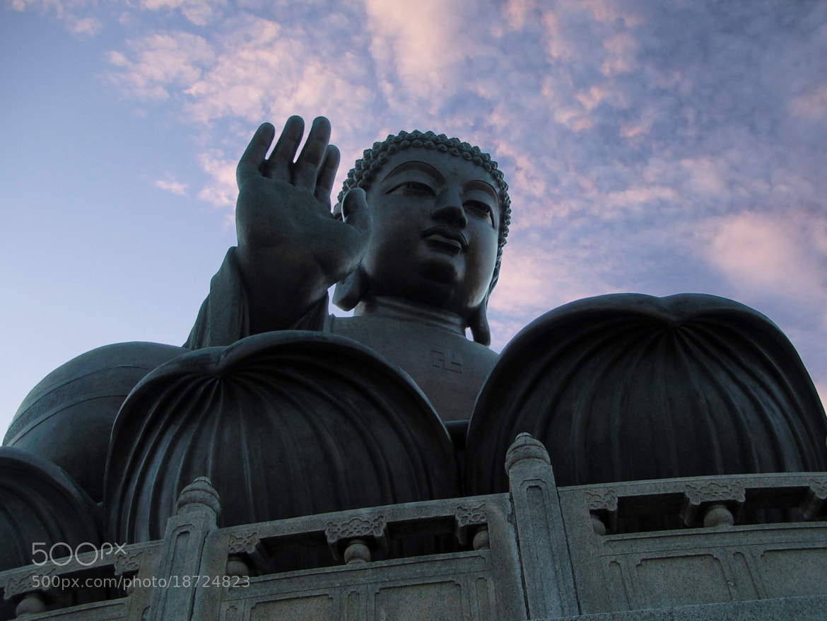 Photograph Overseeing Buddha / Hong Kong 2004 by Kit Suman on 500px