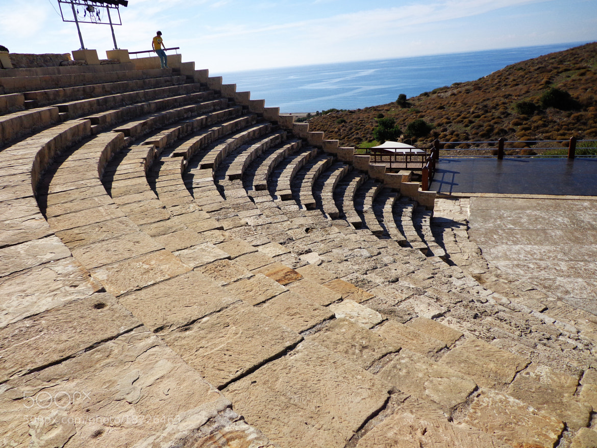 Photograph  theatre of Kourion  by little michelle on 500px
