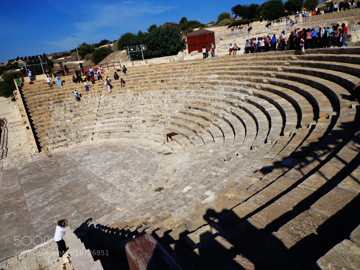 Photograph The ancient theatre of Kourion in cyprus by little michelle on 500px