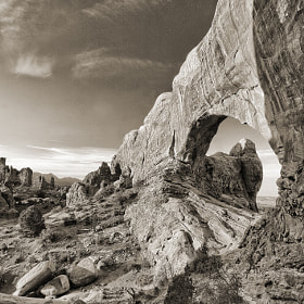 Arches & Clouds by John Crouch (jalexanderimaging)) on 500px.com