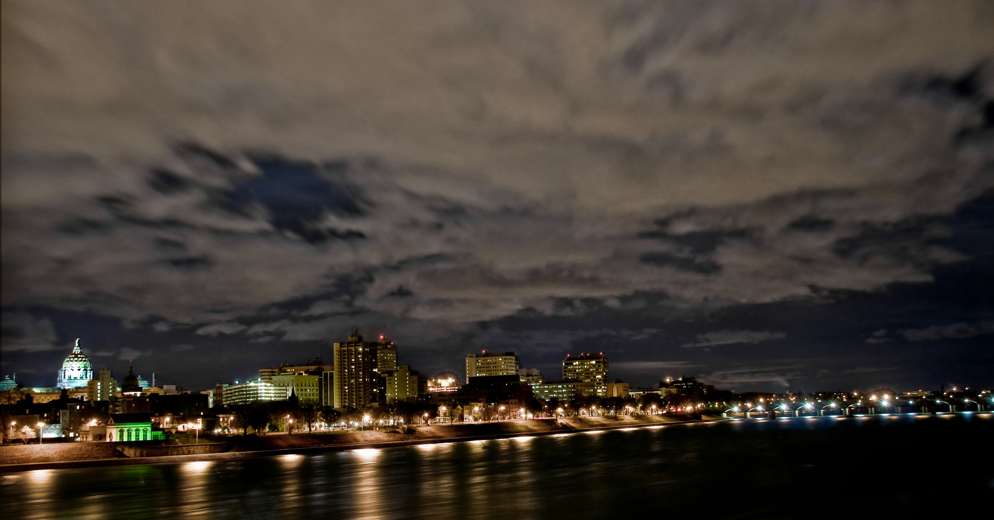 Photograph Harrisburg Skyline by Steven Kersting on 500px
