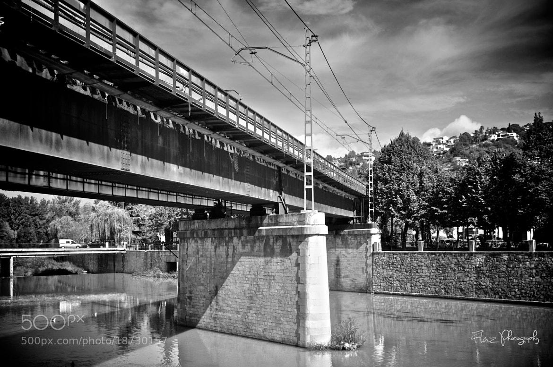 Photograph B & W Bridge by Florencia Azambuja on 500px