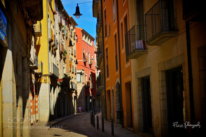 Photograph Girona Colour Street  by Florencia Azambuja on 500px
