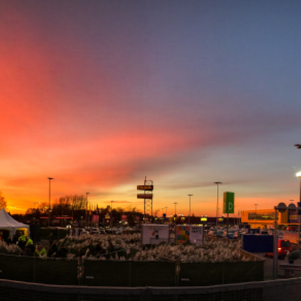 Sunset Over IKEA