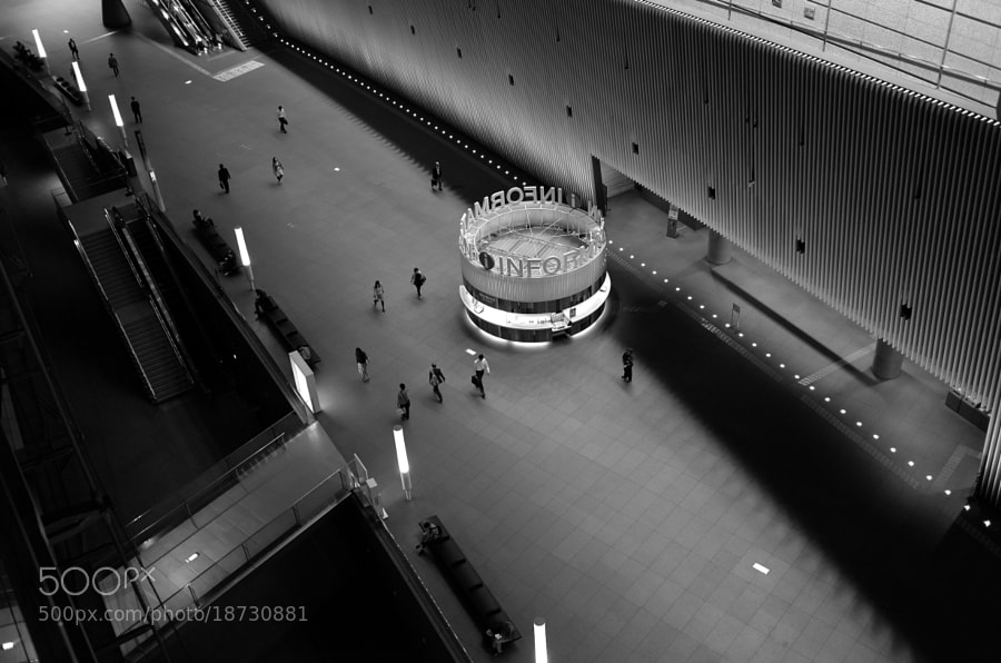 Photograph Tokyo International Forum by Aki. Ono on 500px