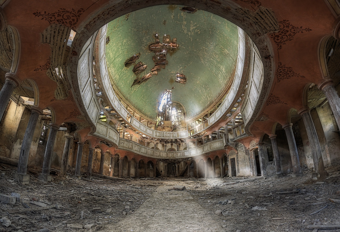 Photograph Holy Decay by Andreas Gronwald on 500px