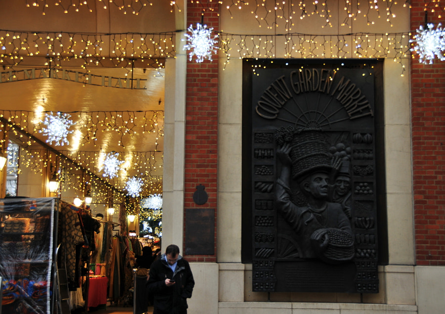 Christmas At Covent Garden, London by Sandra on 500px.com