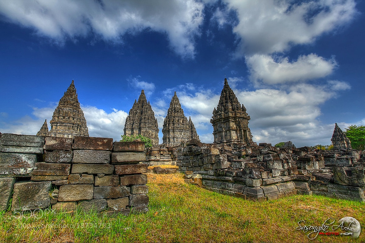 Photograph Prambanan Temple HDR by Dimas Sasongko Adi Laksito on 500px