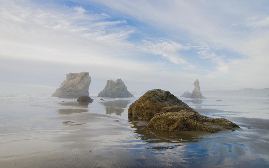 Photograph Sea Stacks by Robert Newman on 500px