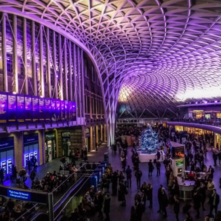 Kings Cross Station Panorama.