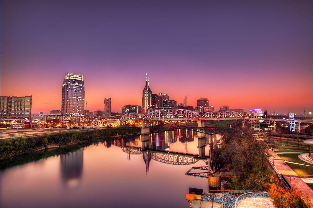 Photograph Sunrise in Music City by Warne Riker on 500px