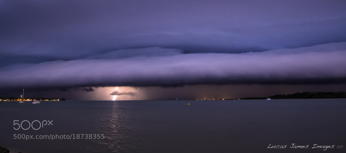 Photograph Storm Front by Lucas James on 500px