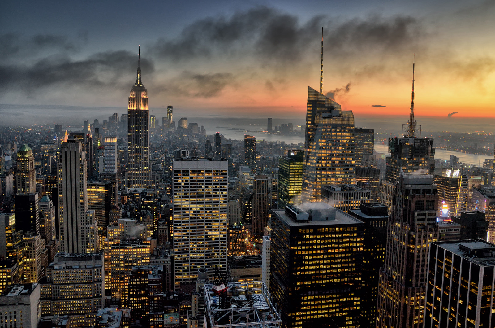 Photograph Top of the Rock by Lamartine Teixeira on 500px
