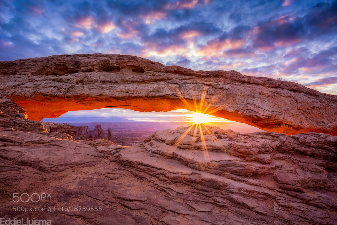 Photograph Mesa Arch by Eddie Lluisma on 500px