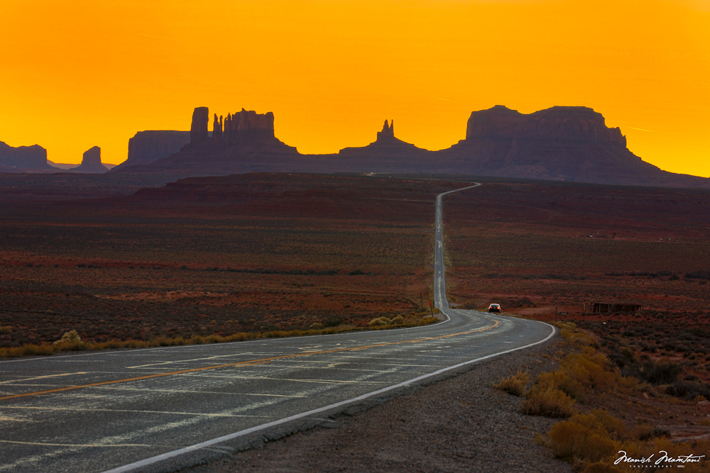 Photograph Monument Valley by Manish Mamtani on 500px