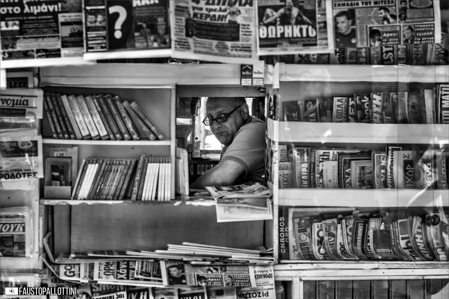 Newspaper ? by Fausto Pallottini on 500px.com