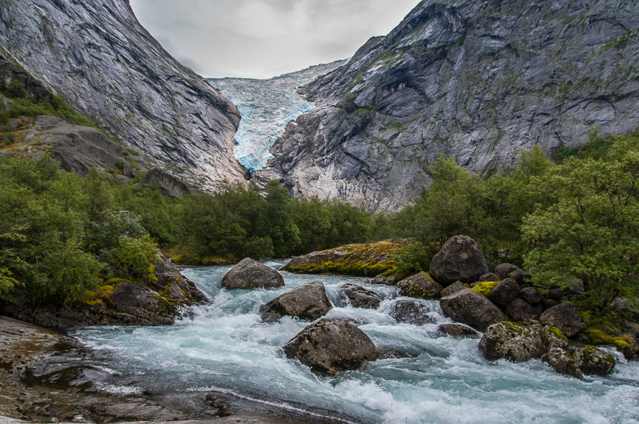 Photograph Briksdal Glacier by Dave Gregory on 500px